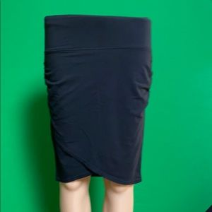 Athleta cotton/modal slim skirt